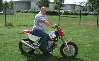 CCM Prize bike winner!