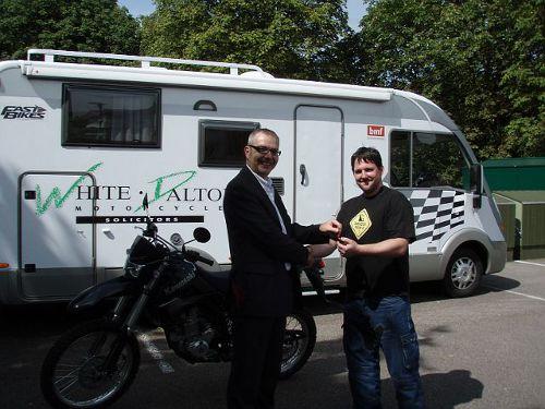 KLX250 Bike Winner!