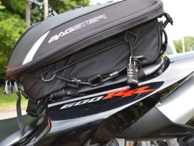 Bagster Spider seat bag review