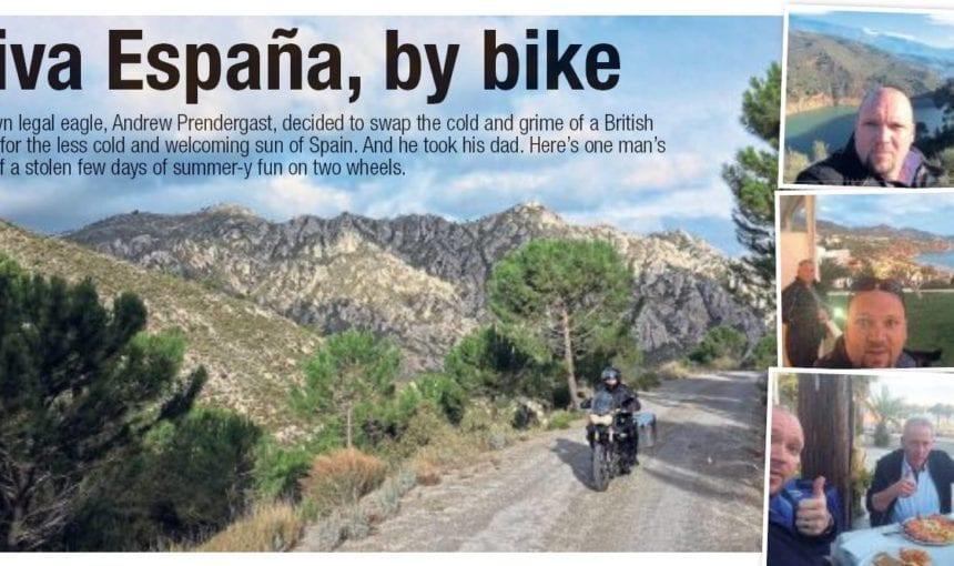 Viva España, by bike