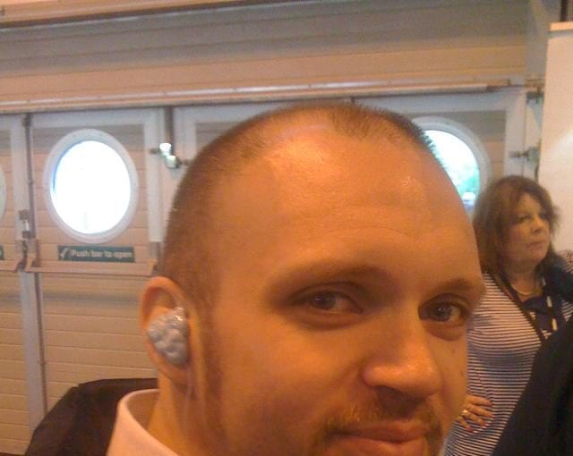 Custom made ear plugs by Ultimate Ear