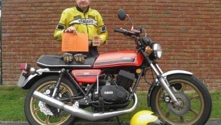1976 Yamaha RD400C