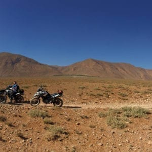 Motorcycling in morocco