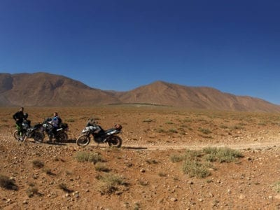 Motorbiking in Morocco