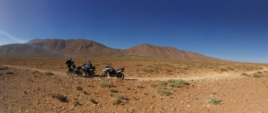 Motorbiking in Morocco