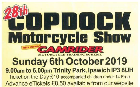 Copdock Motorcycle Show 2019