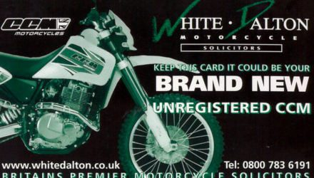 Husqvarna Prize Draw Number w/c 3 April 2020