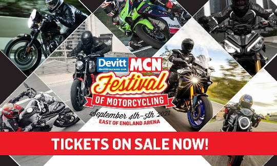 MCN Festival of Motorcycling 2021