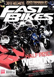 Fast Bikes March 2013 Cover